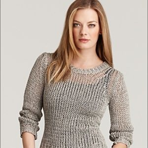 Theory Shirlyn Sparkle Knit Sweater